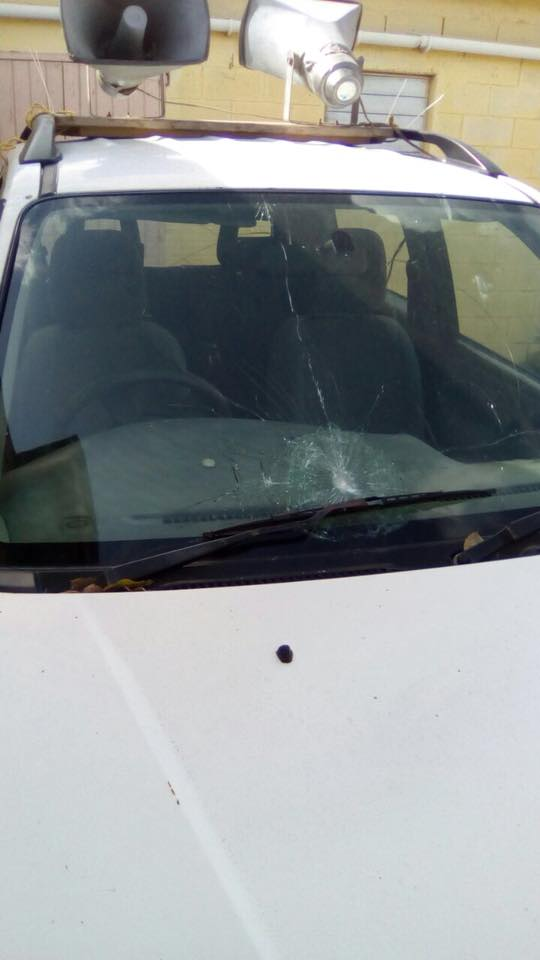 DNA Condemns Malicious Damage to Candidate's Campaign Vehicle