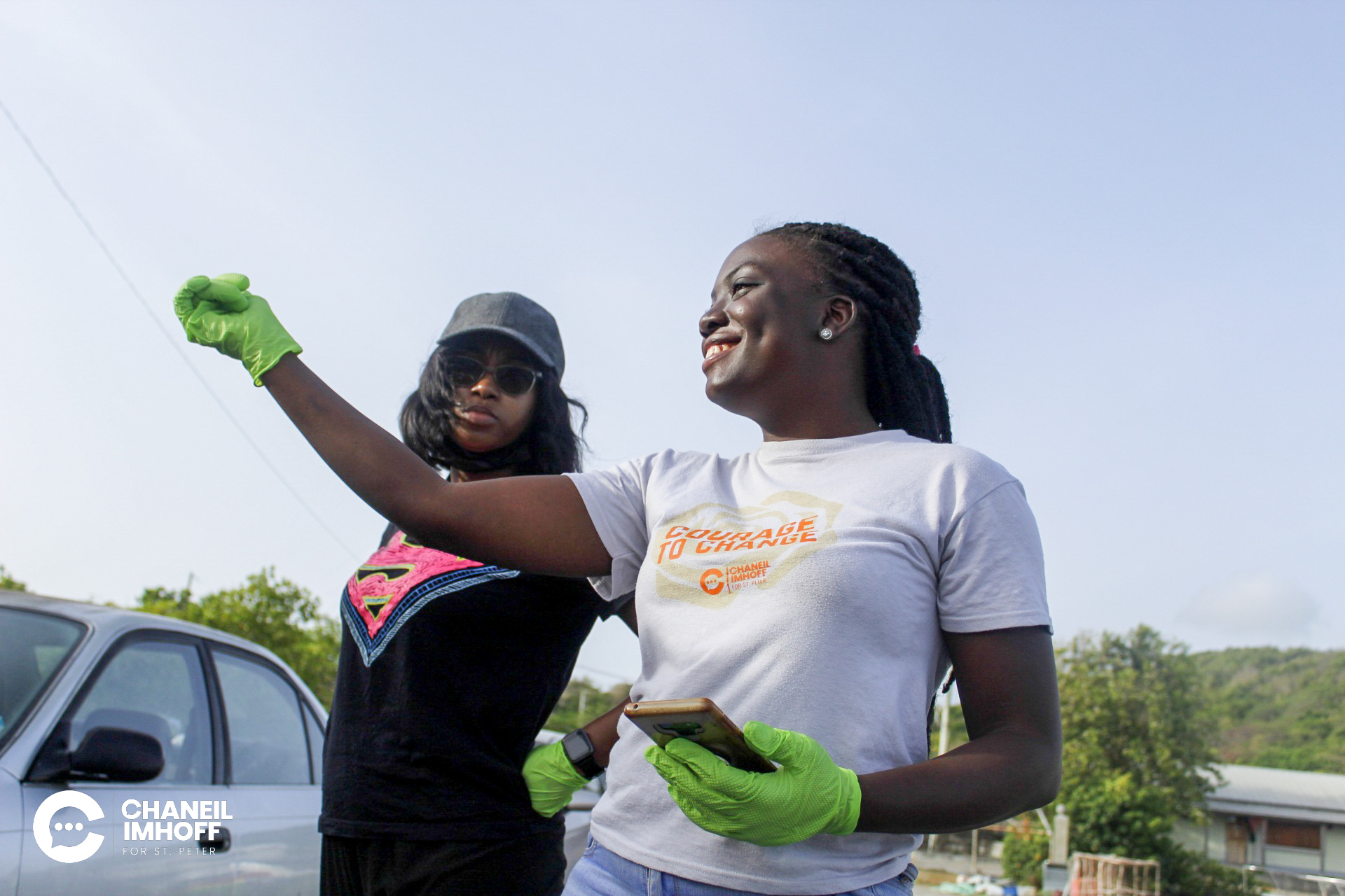 International Day for Biodiversity Cleanup Activity in St. Peter